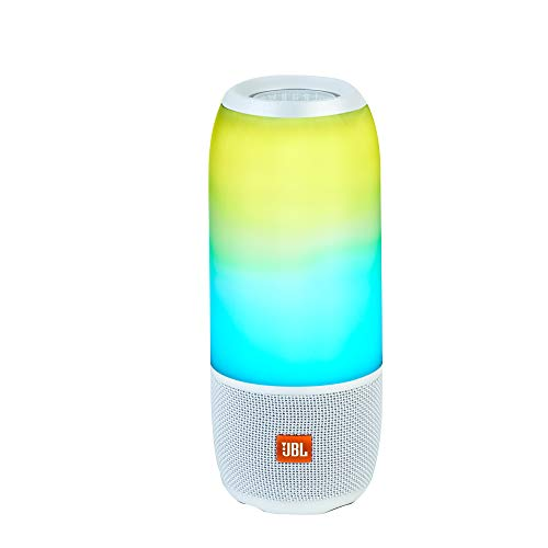 JBL BY HARMAN Pulse 3 portable bluetooth speacker Blanc