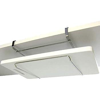 吊り下げラック まな板ホルダー まな板スタンド 18-8ステンレス製 穴あけ不要 ネジ止め不要 日本製