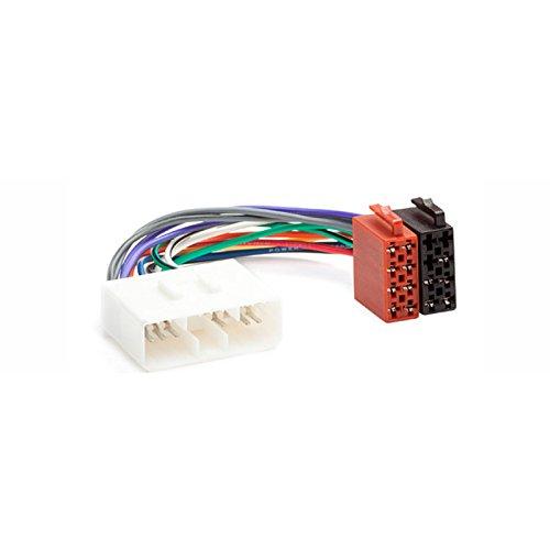 CARAV 12–005 ISO Adaptateur radio pour Ssang Yong – 2002 + (Certains modèles)/Daewoo 1997 + (Certains modèles) Câblage fil Harnais connecteur Laisse Loom Câble adaptateur prise stéréo