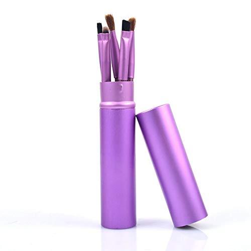FGJPO Pinceaux À Maquillage Pinceaux De Maquillage Set Ombre À Paupières Eye Liner Shadow Brushes Outil De Maquillage avec Support De Tube De Coupe