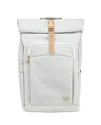 Acer Predator Rolltop Jr. Smoky White Backpack - For All 15.6
