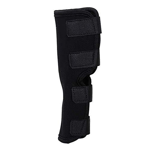 N /A Support pour Les Jambes de Chien Brace Canine Contre-Joint de Hanche arrière Protection Attelle Bandage Thérapeutique de Hanche pour Canins (L, Black)