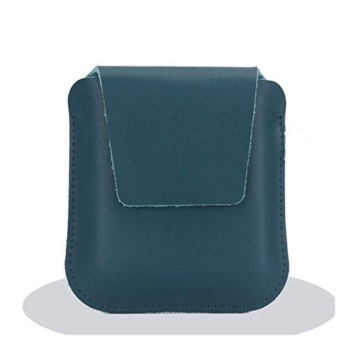 CONGCASE Funda para teléfono de Cuero Slim All-Inclusive Funda Protectora a Prueba de choques Protector de Bolsas para Motorola RAZR 5G 2020 (6,2 Pulgadas) (Color : Green, Size : Sling Style)