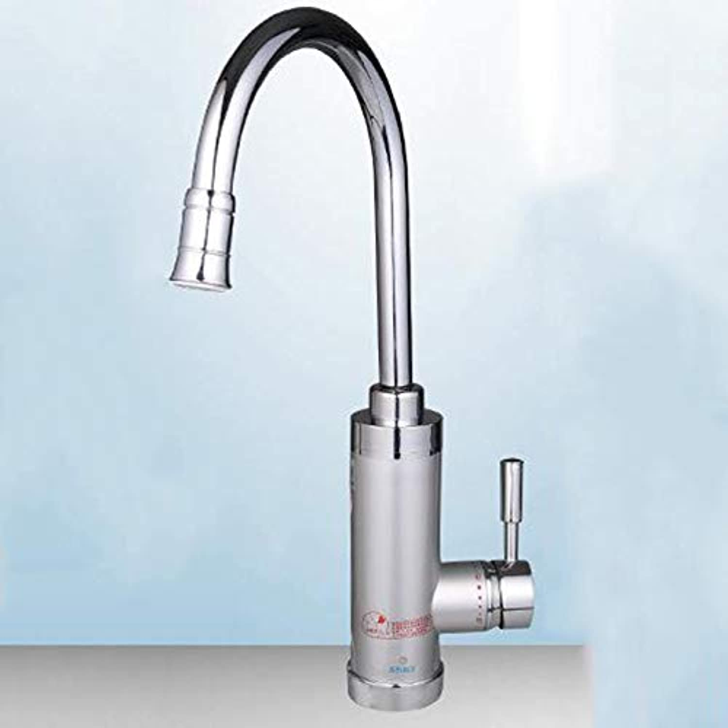 304 Stainless Steel Fast Heating Instant Hot Kitchen Hot And Cold Water Faucet (color   Silver, Size   A)