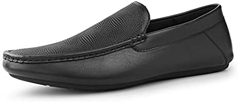 Hawkwell Men's Casual Slip-on Loafer Dress Shoes Moccasin Driving Shoes