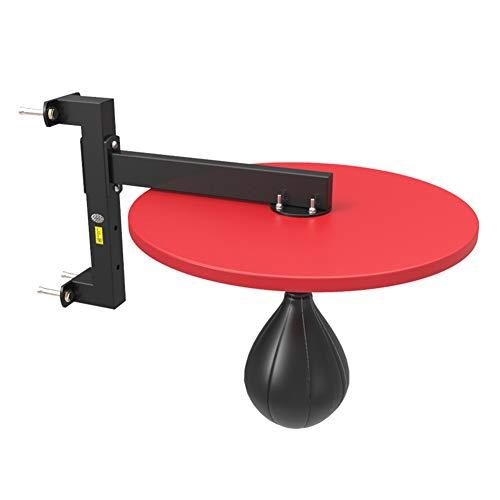 GYMEIJYG Soporte De Saco De Boxeo,Cadena De Acero Gancho De Techo Colgando Altura Ajustable para Gimnasio Interior Rack De Bolas De Velocidad De Boxeo (Color : Red-a, Size : 35x50cm)