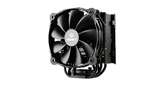 Enermax ETS-T50A-FSS T50 AXE Silent Edition- Dissipatore CPU con flusso laterale e ventola PWM ad alta pressione da 14cm, Intel AMD