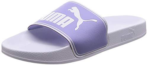 Puma Leadcat, Unisex-Erwachsene Hausschuhe, Weiß (Puma White-Sweet Lavender), 43 EU