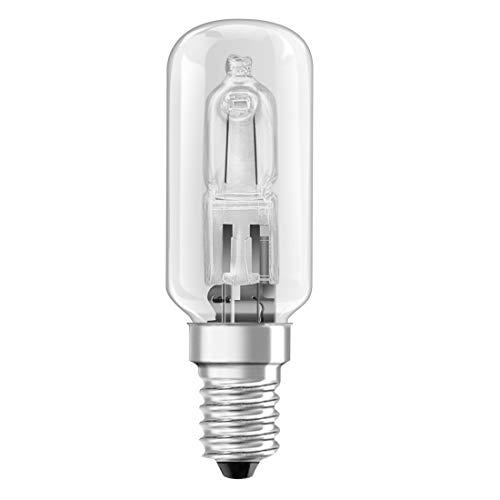 Xavax Ampoule halogène pour hotte aspirante (25W, E14, 260 lm, 2000 h, blanc chaud, forme tube) Transparent
