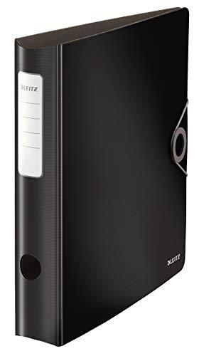 Leitz 10481095 Qualitäts-Ordner, Schwarz, 65mm