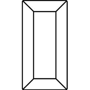 Swarovski Strasssteine Elements Fancy Stones 4501 MM7,0X 3,0 - Jet (280)