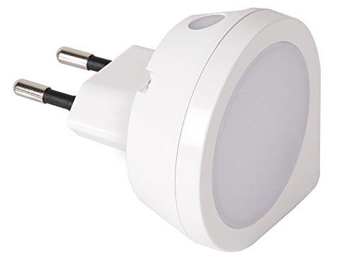 Preisvergleich Produktbild Star Trading iclle002s Nachtlicht LED 0, 4 W rund mit Dämmerungssensor
