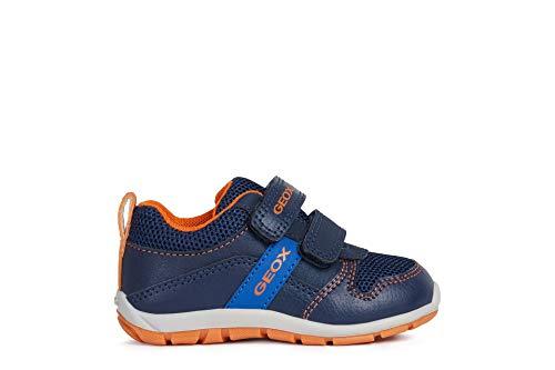 Geox Boys Toddler HEIRA 2 Navy Sneakers 9
