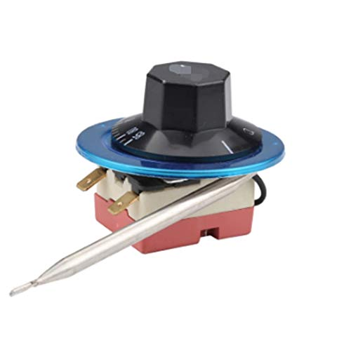 Hsmin 30-85 Grados Interruptor de Control de Temperatura Termóstato capilar 2 Pin Controlador de Temperatura Ajustable mecánico