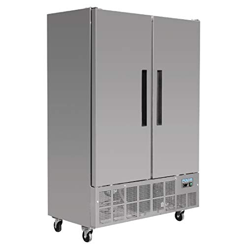 Congelador comercial Polar 960 litris 2puertas Slimline