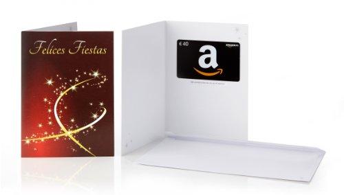 Tarjeta Regalo Amazon.es - €40 (Tarjeta de felicitación Felices Fiestas)