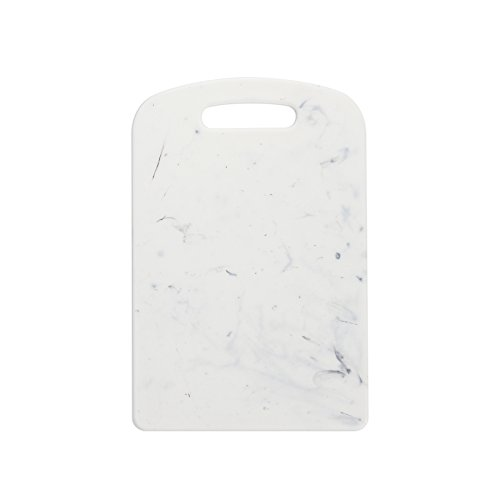 Dexas PolyMarble Cutting Board with Rounded Corners, 8.75 x 11 Inches, White