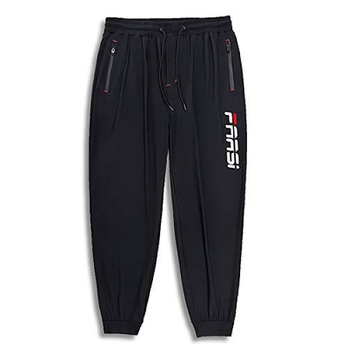 Pantalon de Jogging pour Hommes Pantalon de survêtement Sport Pantalon à Taille élastique avec Cordon de Serrage