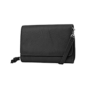 Fashion Shopping Mundi RFID Crossbody Bag For Women Anti Theft Travel Purse Handbag Wallet Purse Vegan Leather