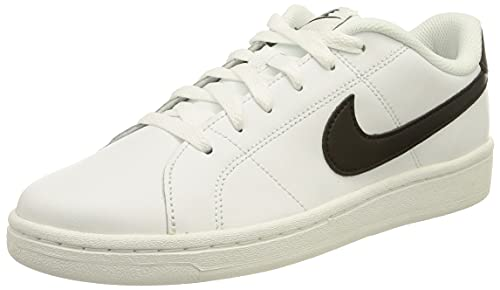 Nike Court Royale 2 Low, Zapatos de Tenis Hombre, Blanco y Negro, 42 EU