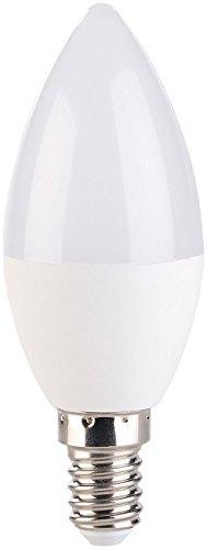 Luminea E14 regulable: Vela LED, 3 niveles de brillo, luz diurna blanca, 6500 K, 5,5 W, E14 (E14 Pera)