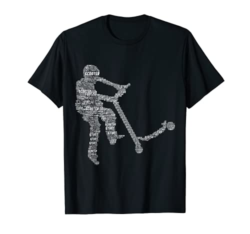 Truco scooter scooter patada scooter niño Camiseta