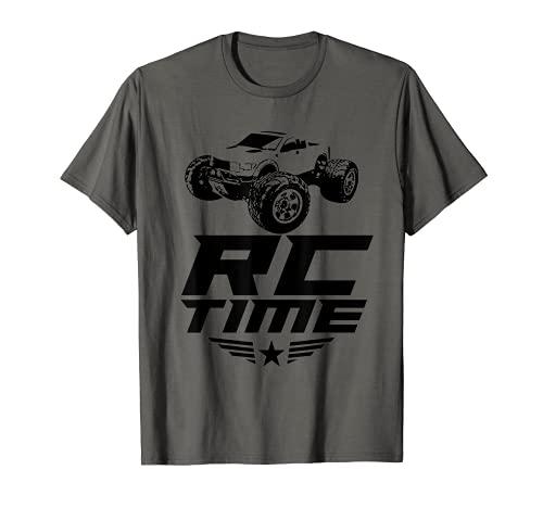 RC Race Time! Funkgesteuertes Hobby Auto & LKW & Buggy Geschenk T-Shirt
