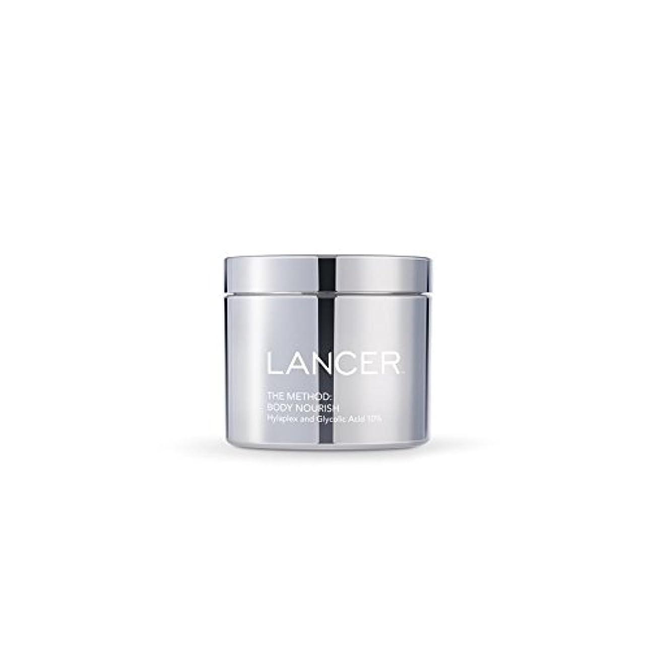 パネル曲がった葉巻Lancer Skincare The Method: Body Nourish (325ml) (Pack of 6) - 本体養う(325ミリリットル):ランサーは、方法スキンケア x6 [並行輸入品]