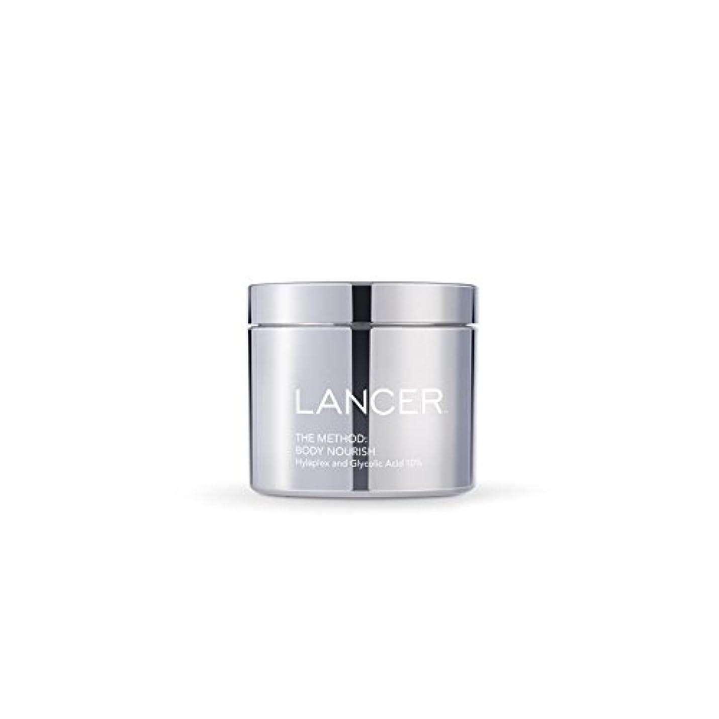 温帯前方へダイヤルLancer Skincare The Method: Body Nourish (325ml) - 本体養う(325ミリリットル):ランサーは、方法スキンケア [並行輸入品]