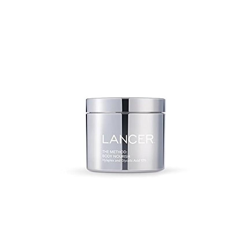 テクニカルスロープ密Lancer Skincare The Method: Body Nourish (325ml) (Pack of 6) - 本体養う(325ミリリットル):ランサーは、方法スキンケア x6 [並行輸入品]