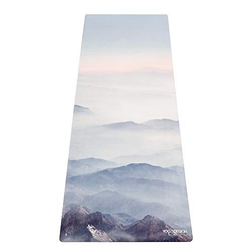 Yoga Design Lab La Esterilla de Yoga Combo 3.5mm. Dos en Uno | Antideslizante | Acolchada | Ecológica | Lavable a la Máquina (Kaivalya)