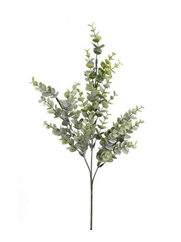 artplants.de Kunstzweig Eukalyptus Zweig Noelia, grün, 70cm - Deko Eucalyptus