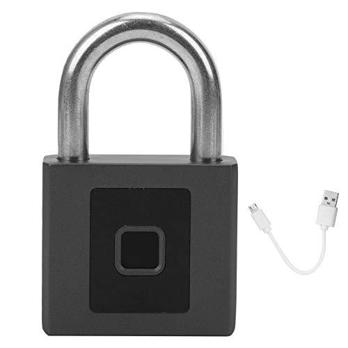 Candado de huellas dactilares Thicken Lock Electronic Beam Outdoor Bluetooth App Desbloqueo Candado antirrobo de seguridad impermeable para el sitio de construcción Well Lid Warehouse