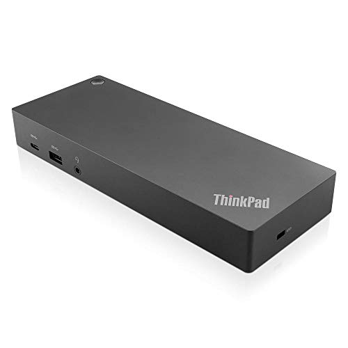 Lenovo 40AF0135UK ThinkPad Hybrid USB-C with USB-A Dock - Docking station - USB-C - GigE - 135 Watt - GB - for ThinkPad L480 L580 T480s X1 Yoga X280 - (Laptops  Laptop Docking Stations)