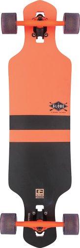 Globe Longboard Geminon, Fluoro Orange, One Size