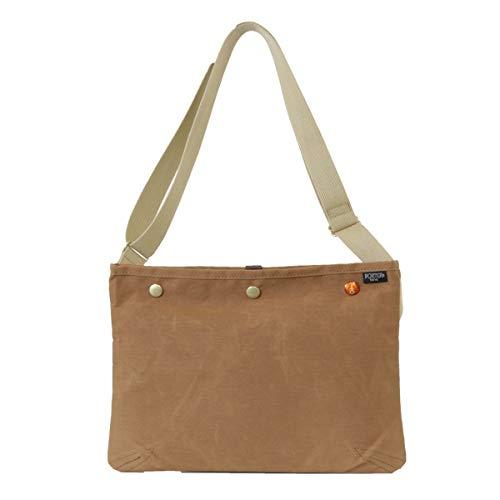 Yoshida Bag Porter (PORTER) Sacoche Shoulder Bag PORTER COPPI Porter Coppi camel 571-09747 Japan Import
