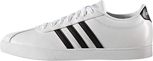 adidas Damen Courtset W Gymnastikschuhe, Weiß, 44 EU