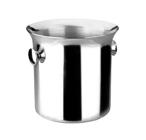 Lacor - 62321 - Cubo Enfriabotellas Conico Inox 5,50 Litros