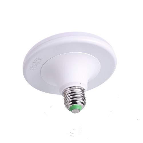 Jandei - Bombilla LED UFO,rosca E27 UFO 18W , 1800 lúmenes (=150W)Luz blanca fria 6000K redonda plana