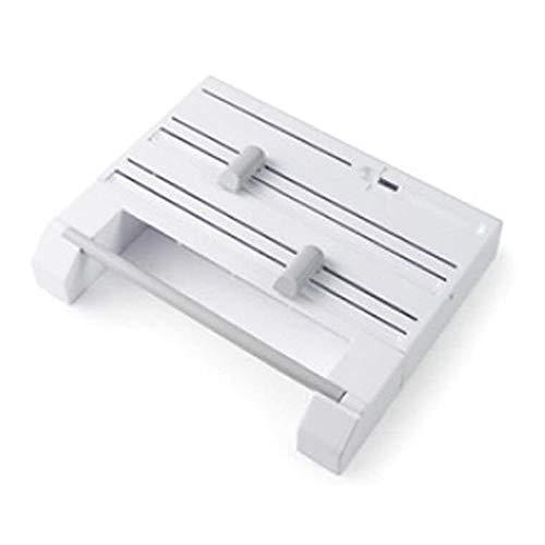6-in-1-wandplank kunststof, eenvoudige en elegante keukenrolhouder van aluminiumfolie voor papieren handdoeken aluminiumfolie