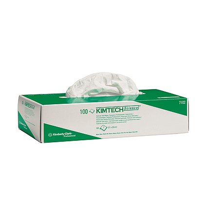 Kimtech Science Labortücher Box mit 100 Blatt