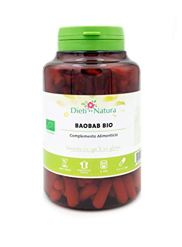 Baobab Bio 200 cápsulas de Dieti Natura. Propiedades antiox