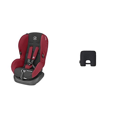 Maxi-Cosi Priori SPS + Kindersitz mit optimalen Seitenaufprallschutz und 4 Sitz- und Ruhepositionen, Gruppe 1 (9-18 kg), nutzbar ab 9 Monate bis 4 Jahre, Basic Red (rot) + Maxi-Cosi e-Safety