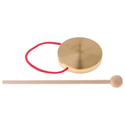 10cm Gong Chinesisch Traditionelle Musikinstrument Feng Gong, Wind Gong, Kinder Pädagogischen Spielzeug