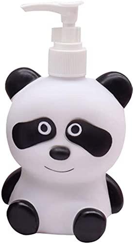 Distributore di sapone Bagno Dinosauro Panda Pompa sapone Panda Cool Bambini Soap Dispenser Lozione Lozione Shampoo Doccia Dispenser Adatto per Bagno, Controsoffitti Cucina, Accessori per il bagno 300