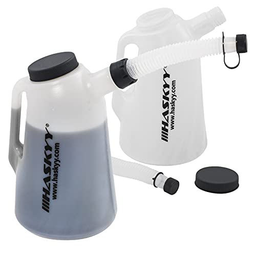 Haskyy® Ölkanne 2,3,5,6,8, L Füllkanne Messbecher Messkanne Wasserkanne (2 Liter)