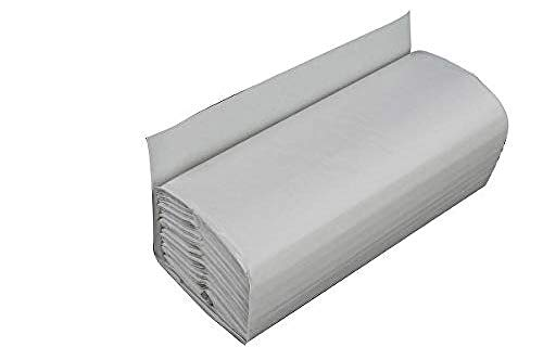 Price comparison product image Enigma HTW240C 2-Ply White C-Fold Hand Towels (2400 Pack)