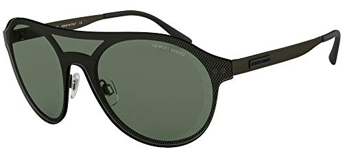 Armani GIORGIO 0AR6078 Gafas de sol, Matte Green, 45 para Hombre