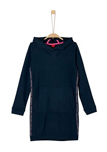 s.Oliver Mädchen 66.909.82.2913 Kleid, Blau (Dark Blue 5952), 134 (Herstellergröße: 134/REG)