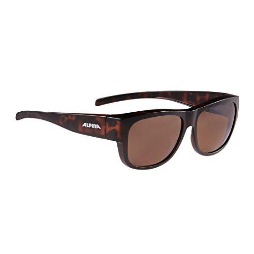 ALPINA A8574591 Sonnenbrille Overview II P Rahmen havanna Glas pol. versp, braun (1 Stück)